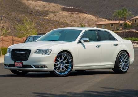 forgiato flow white chrysler 300